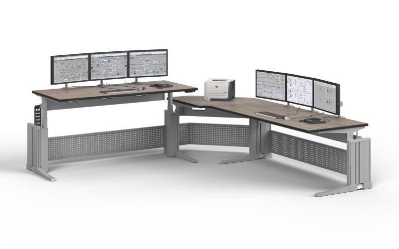 Bild für Nachricht Sitz-Steh-Arbeitsplätze Knürr Elicon