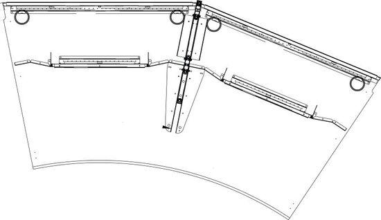 Draufsicht von CICON-MODUL 2-FACH T1200 B2410
